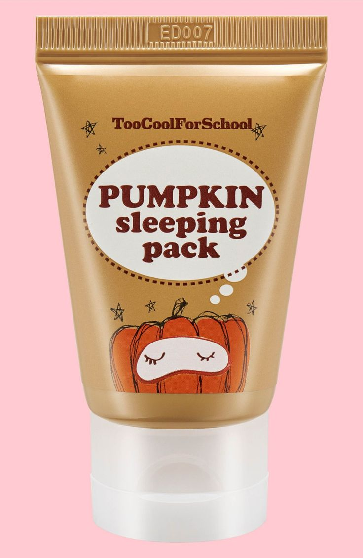 Main Image - Too Cool For School Pumpkin Sleeping Pack Overnight Facial Mask