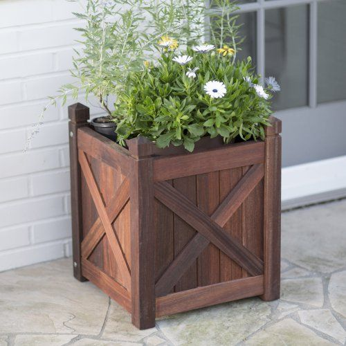 Belham Living Richmond Shorea Square Planter