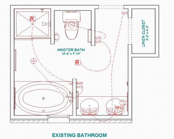 17 best images about small bathroom plans on pinterest for Bathroom sample layouts