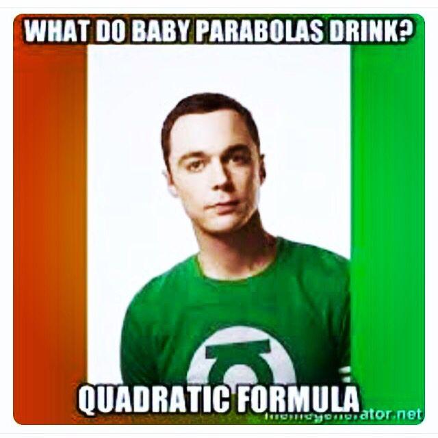 Math jokes #quadratics