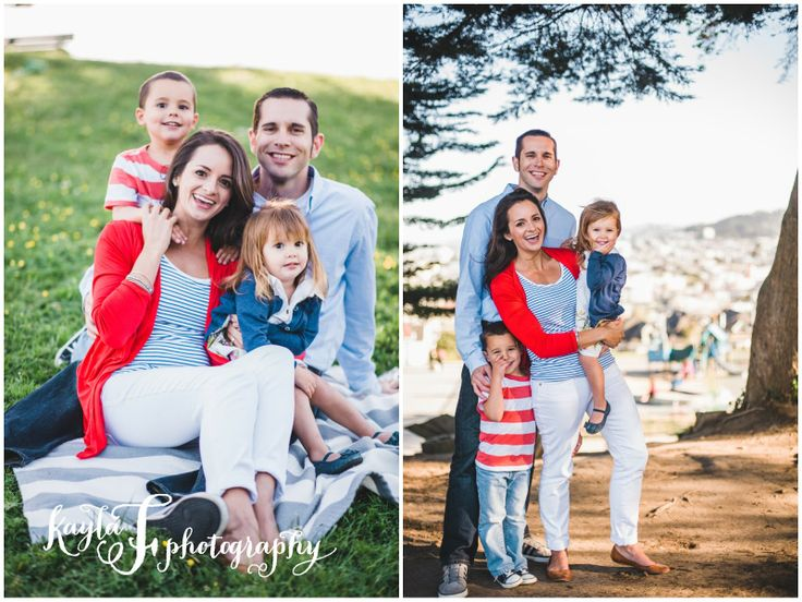 Family Pictures Red White And Blue