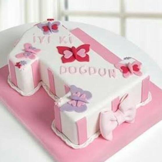 1 yaş pastası www.pastacibaci.com
