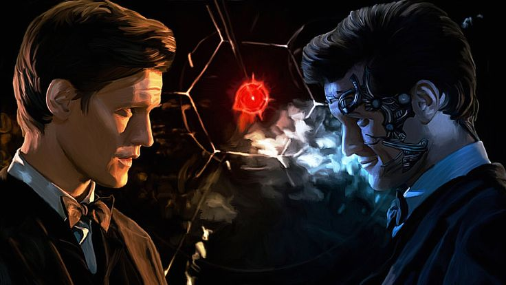 The Doctor Versus Mr Clever by LicieOIC.deviantart.com on @deviantART