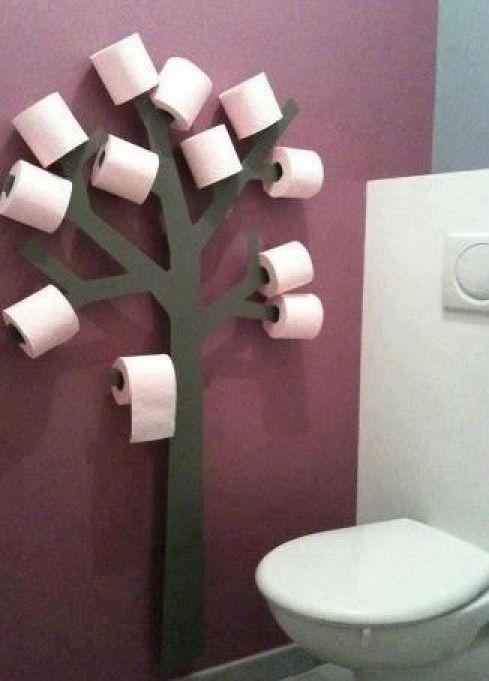 Leuk om zelf te maken | gezien op pinterest,handig in de wc Door annediermen