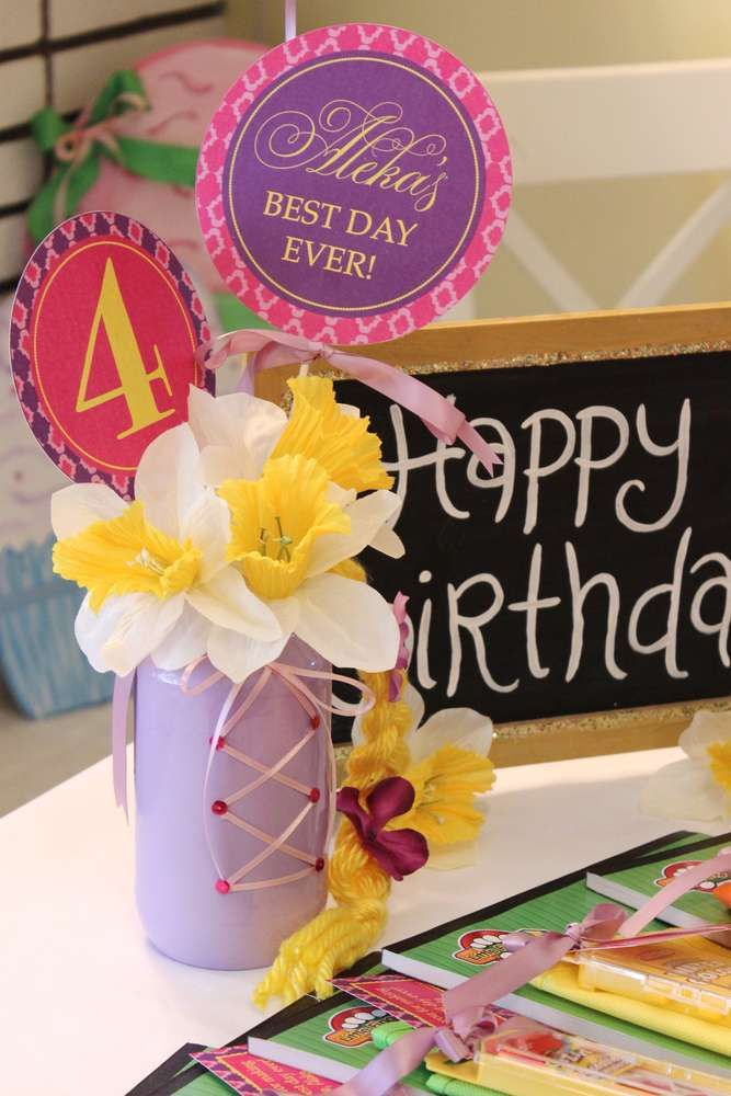 Rupanzel Birthday Party Ideas