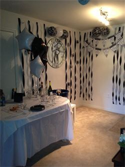 Cheap Party Decorating Ideas Streamers No Helium Balloons Dollar