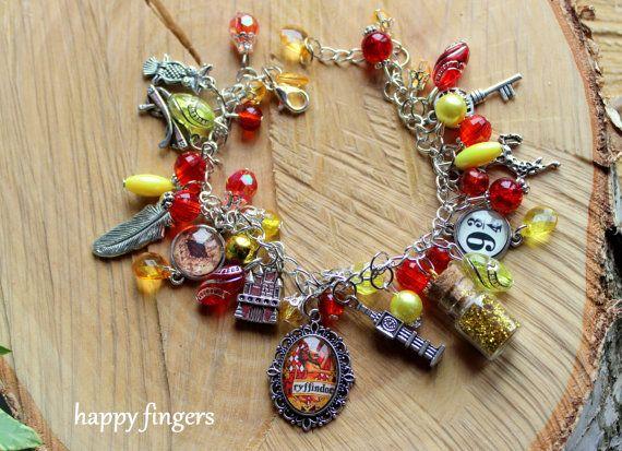 Harry Potter bracelet Gryffindor Hogwarts magic Felix Felicis