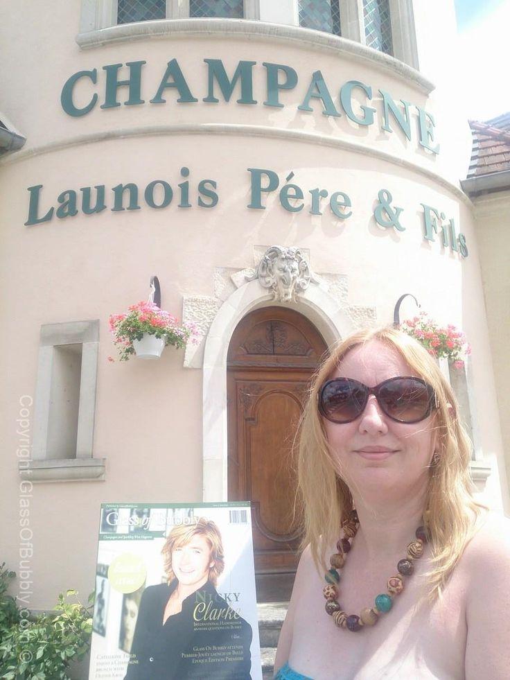 #Champagne Launois Pere et Fils with the #GlassOfBubbly magazine.