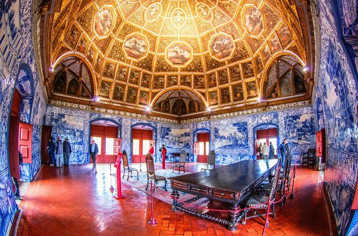 Ulusal sintra Sarayı - Sintra- Lizbon Gezi Rehberi