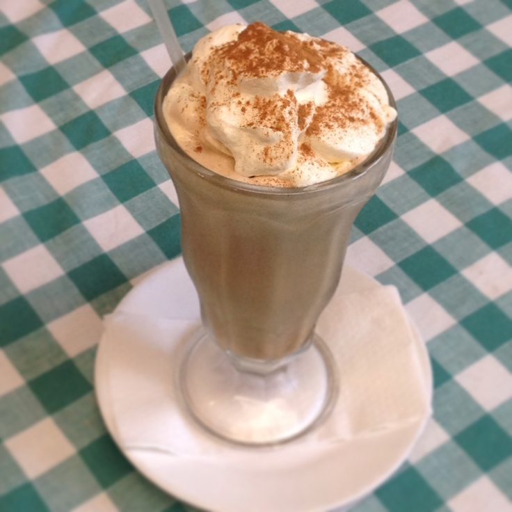 Iced Coffee - a dream in cream!