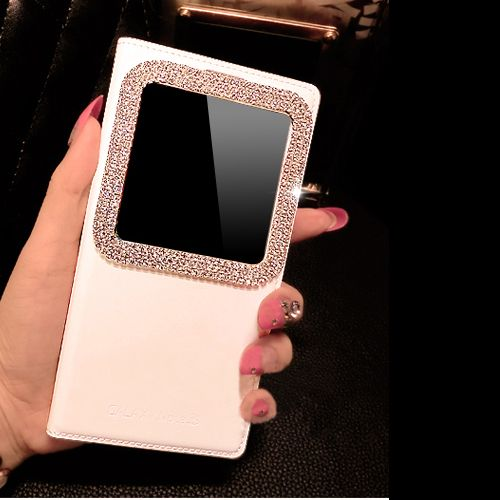 Bling-Diamond-View-PU-Leather-Case-Battery-Cover-for-Samsung-Galaxy-S5-Note-3-4