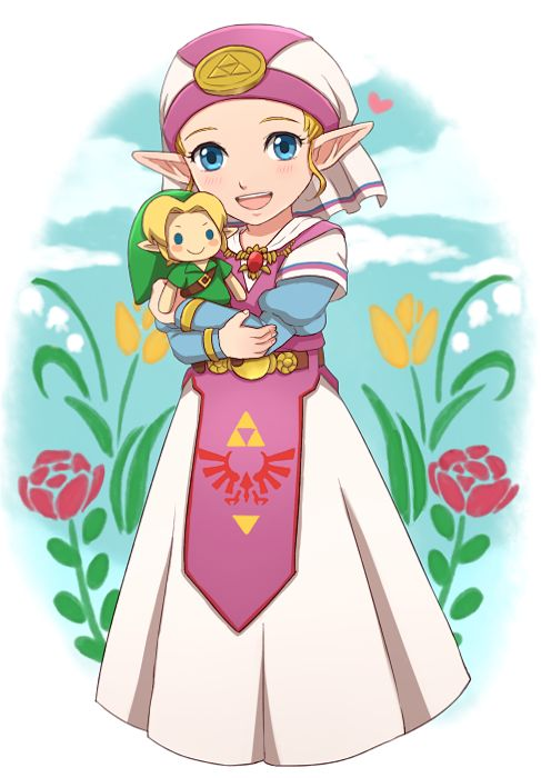 how tall is young zelda