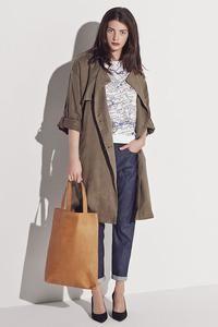 16035577 Tenne long trench coat fra Selected Femme