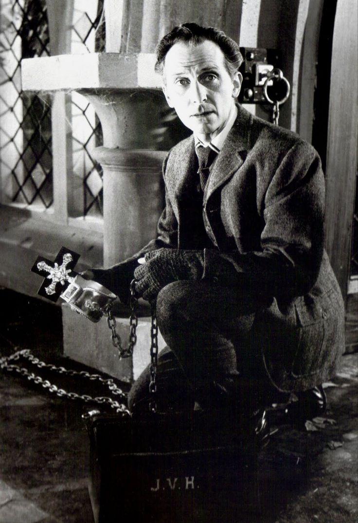 "Peter Cushing in ""Brides Of Dracula"" (1960)"