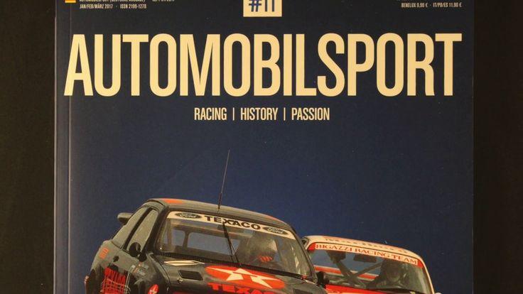 Magazin AUTOMOBILSPORT #11 Tourenwagen Weltmeisterschaft 1987