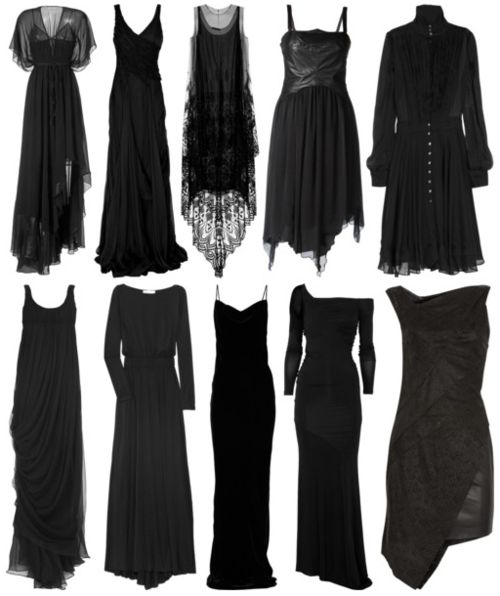 • american horror story AHS Witch goth gothic prom prom dress dark fashion witchy prom dresses american horror story coven ahs coven gothgoth polyvore-gore •