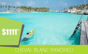 Celebrate EID at Cheval Blanc Maldives, Holiday Package