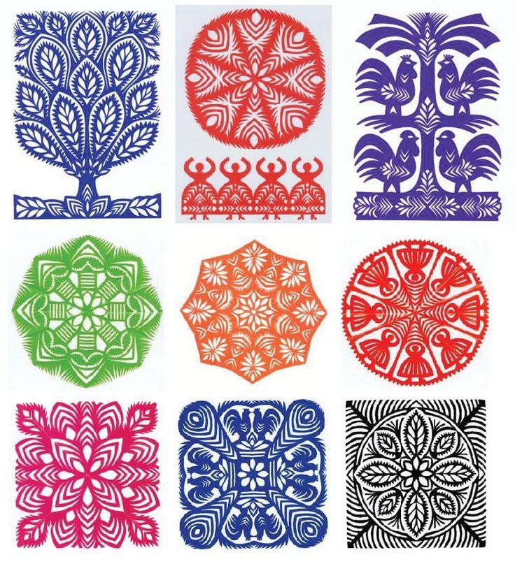 Polish Art of Paper Cutting by Malgorzata Belkiewicz
