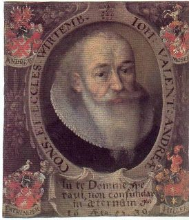 On August 17, 1586, German theologian, author, and mathematician Johann Valentin Andreae was born. He claimed to be the author of the Chymische Hochzeit Christiani Rosencreutz anno 1459 (1616, Strasbourg, the Chymical Wedding of Christian Rosenkreutz), one of the three founding works of Rosicrucianism, a philosophical secret society said to have been founded in late medieval Germany by Christian Rosenkreutz.