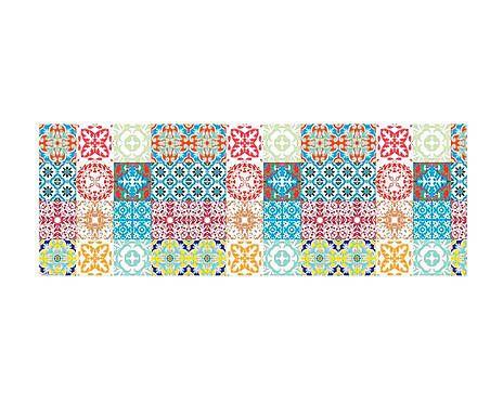 Caminho de mesa - azulejos