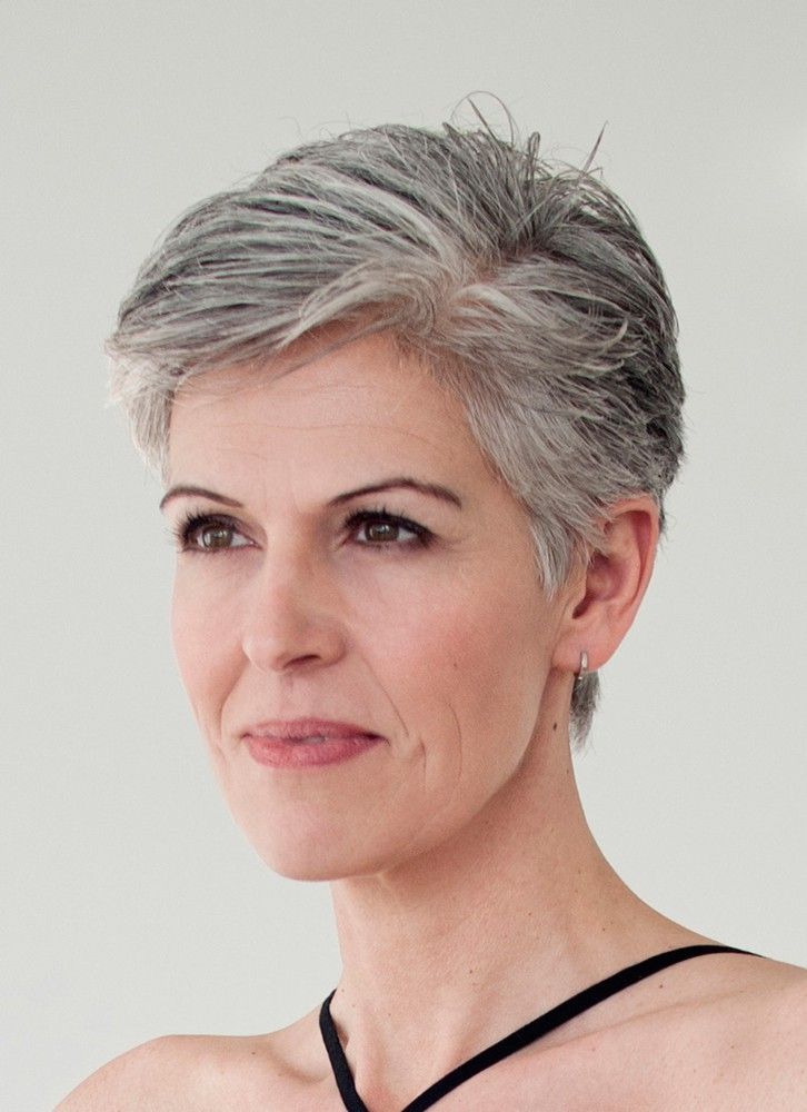 short gray hair ideas