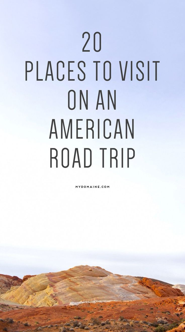Pack the car! It's time to see the all-American sights // road trip http://finelinedrivingacademy.co.uk