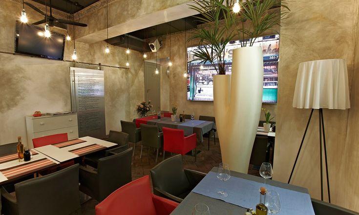 Wnętrze restaracji