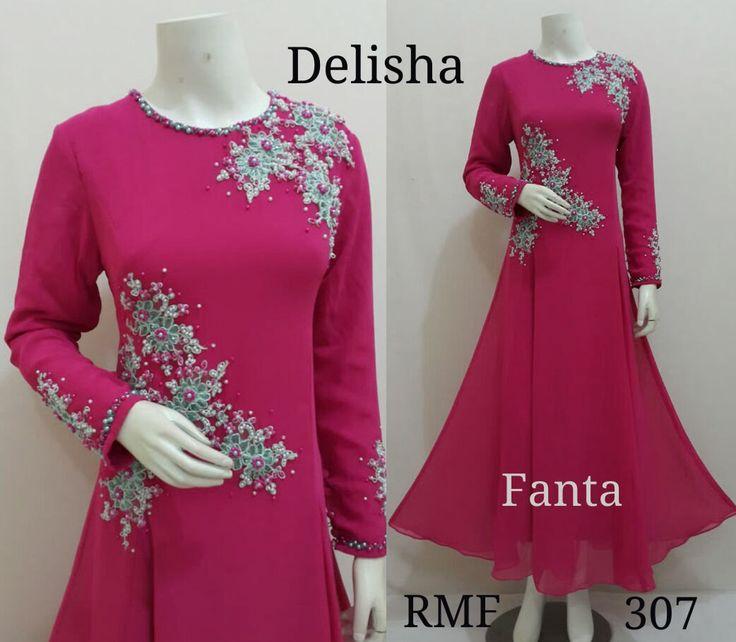 Dubai Kaftan - Fancy Abaya - Kaftan dress - Muslim Dress - Muslim Wedding Dress - Abaya Maxi Dress - Moroccan Kaftan - Delisha Dress by Mustikacollection on Etsy