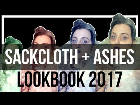 Sackcloth + Ashes Lookbook 2017 is about #Modesty and #FASHION - Are you even modest if you don't blog about it?   #YouTube #Parody #ChristianModesty #ChristianHumor #ChriatianComedy