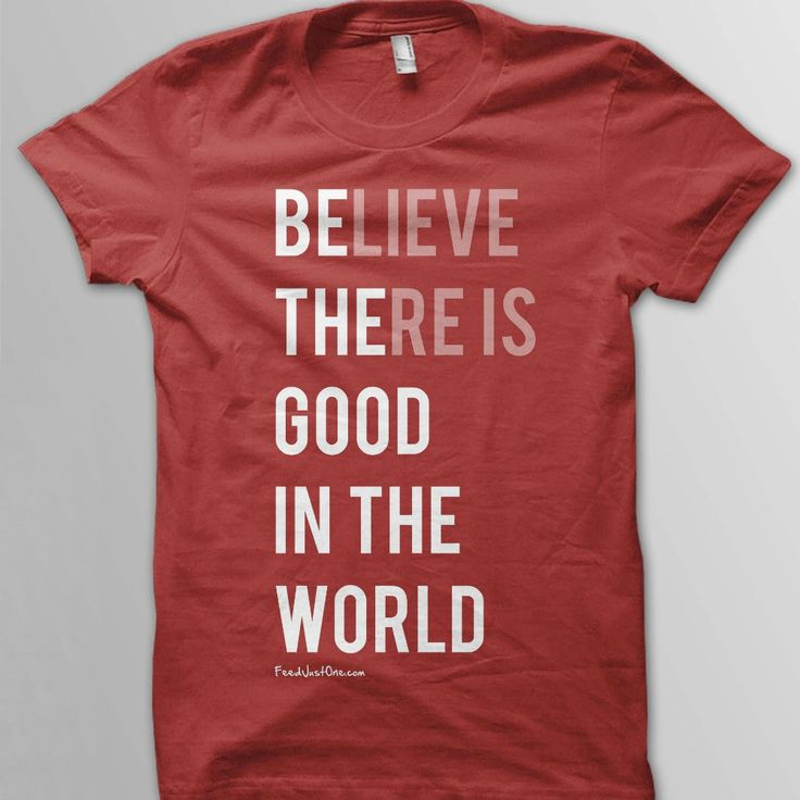this website donates 30 meals to a girls' orphanage in Uganda for every $20 tshirt. LOVE.