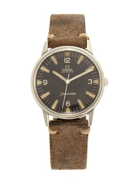 Vintage Watches Omega Stainless-Steel Seamaster (c. 1960s) at Park & Bond ($500-5000) - Svpply