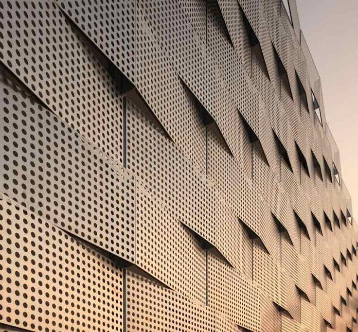Lochbleche in der Architektur - Sichtschutz und Sonnenschutz