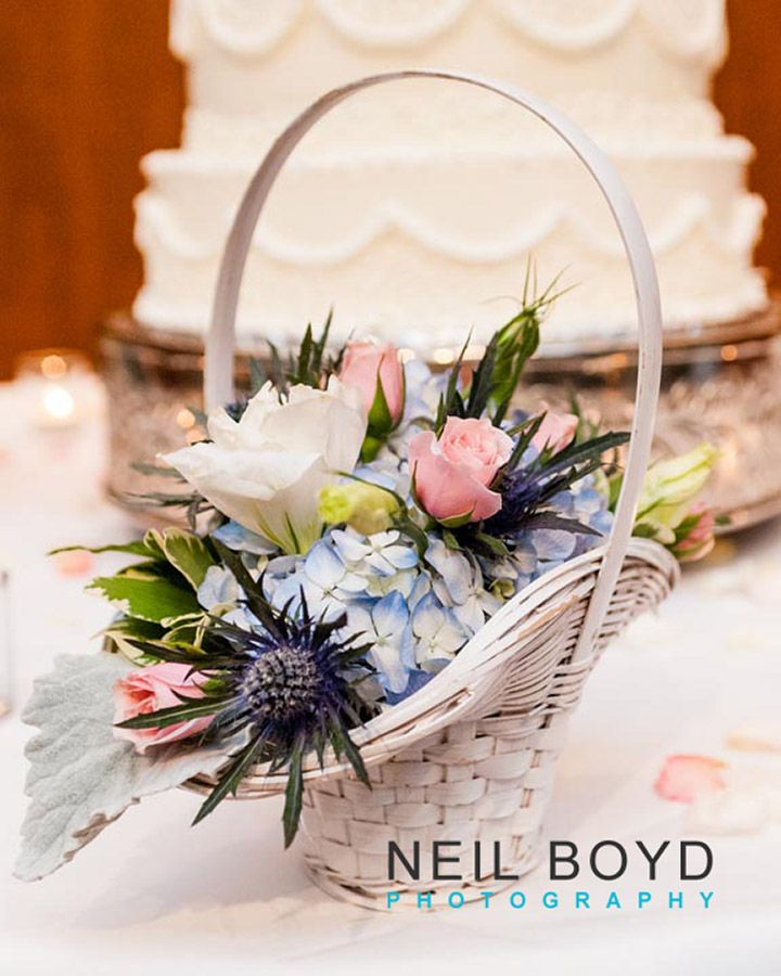 Flower Basket Neil Boyd Photography Raleigh Nc Wedding Photographer