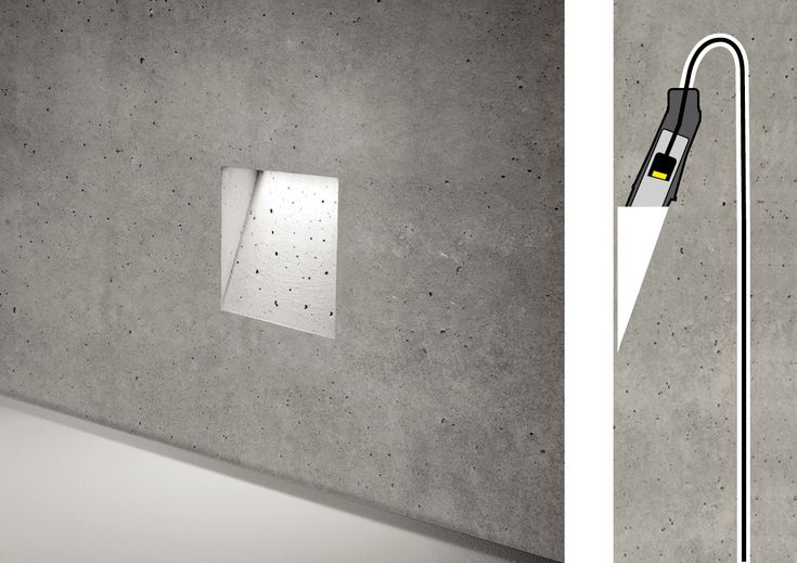 A concrete light blade: Ghost by Simes