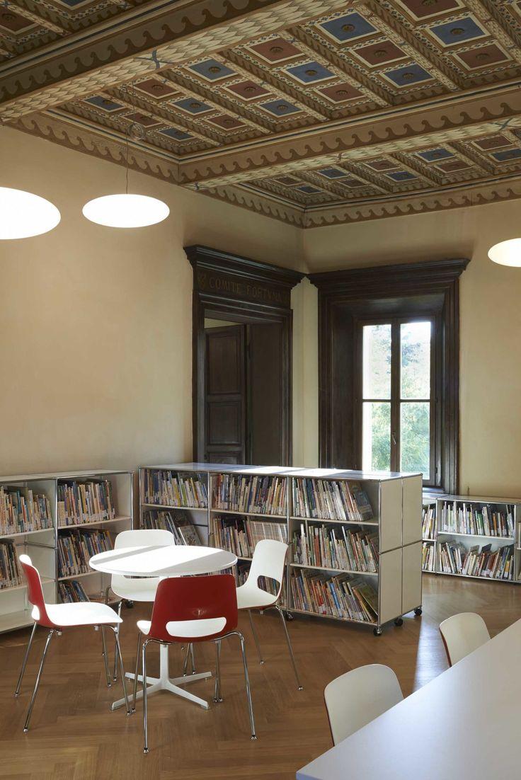 Ufficio Progetti Architetti Associati · Restauro Villa Giacobazzi. Biblioteca Ragazzi di Sassuolo · Divisare