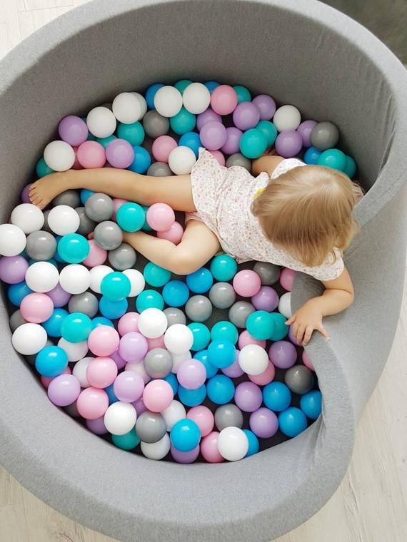 Plastic Balls Set 500 Ball Pit Balls Etsy Kids Ball Pit Baby