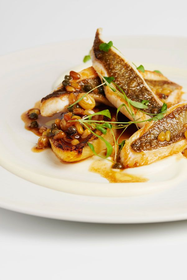 Fillet of John Dory with orange glazed endive by Galvin Brothers