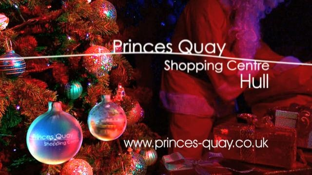 The Princes Quay is a Shopping Centre in Hull, East Yorkshire and Classlane have produced their Christmas TV advert for 2009.The ad features a Christmas tree festooned with baubles showing the stores within the Princes Quay Shopping Centre in Hull.