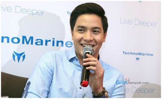 A humble Alden said that irst and foremost, he never knew that he was qualified to endorse such a big watch brand. So when TechnoMarine gave him the chance to be their endorser, he immediately gave a nod.