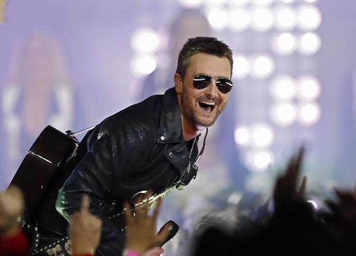 Eric Church - Hottest men in country music