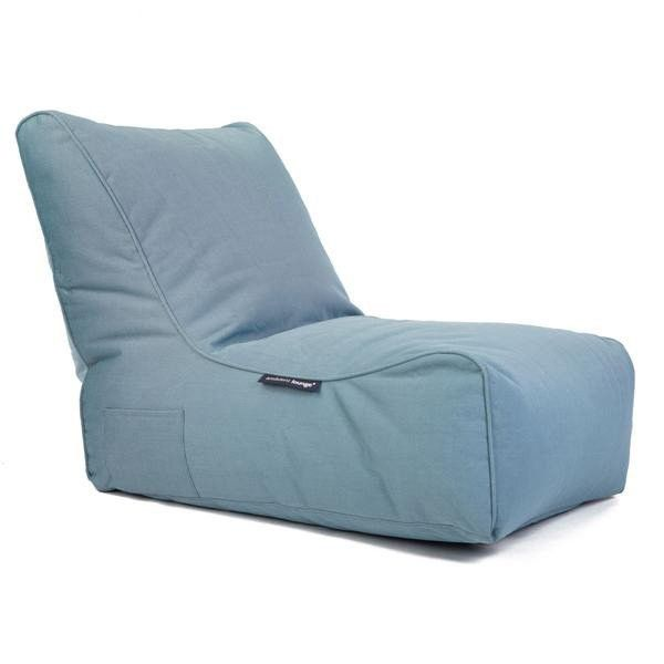 Ambient Lounge® Evolution Outdoor Sofa Bean Bag Chair - Blue Sky Eclipse