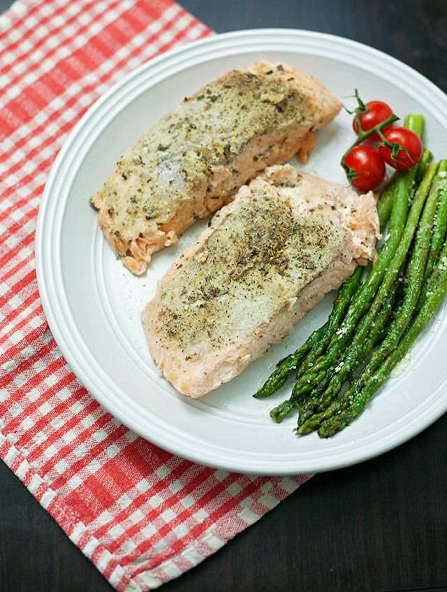 I REALLY need to eat this Lemon Pepper Salmon.  NEED.