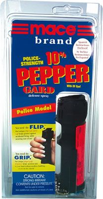 Mace Pepper Sprays  - Police Mace Spray - PepperGard® - .6 Oz.