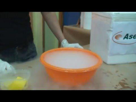 experimento hielo seco - Escuela de Ciencia - YouTube