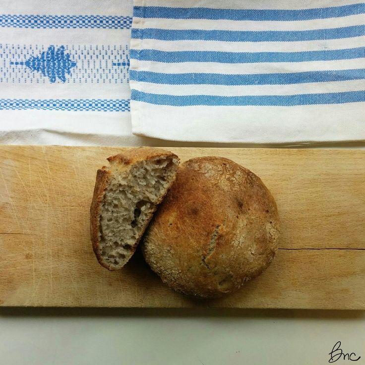 Pane senza glutine con lievito madre e grano saraceno #glutenfree #pane #lievitomadre
