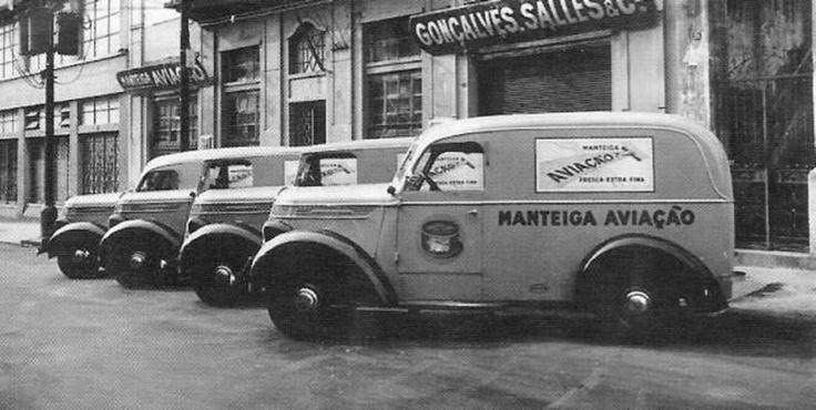 Manteiga Aviação - Escritório em São Paulo - 1946