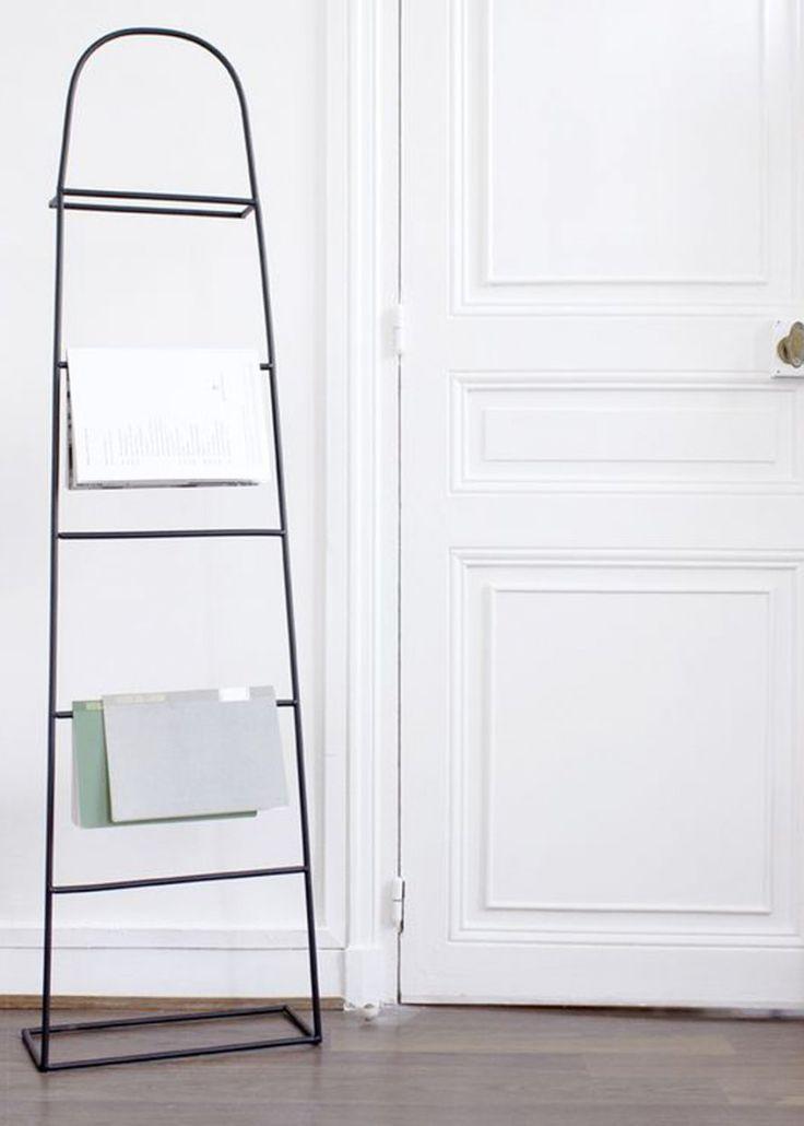 Les 25 meilleures id es de la cat gorie porte serviette - Echelle bois porte serviette ...