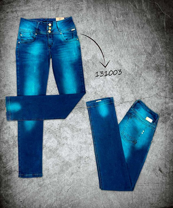 jeans-mujer-color-azul-blue-jeans- woman-131003