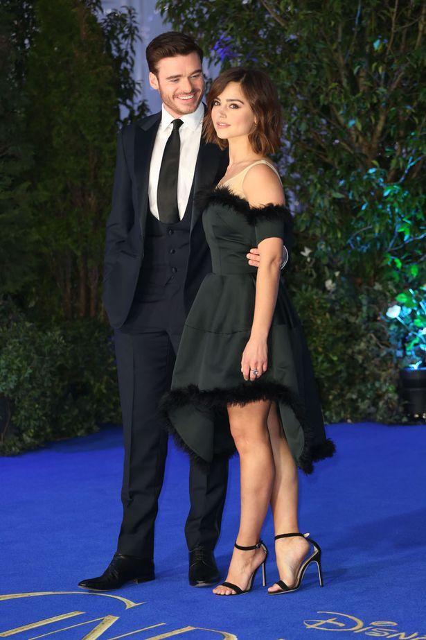Richard-Madden-and-Jenna-Coleman-at-Cinderella-Premiere.jpg (615×923)