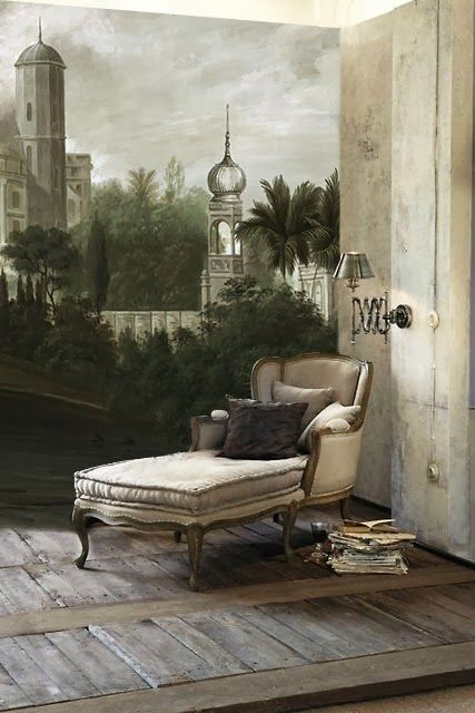 Ananbô a wallpaper manufacturer in bordeaux france mixes the tradition of the 18th
